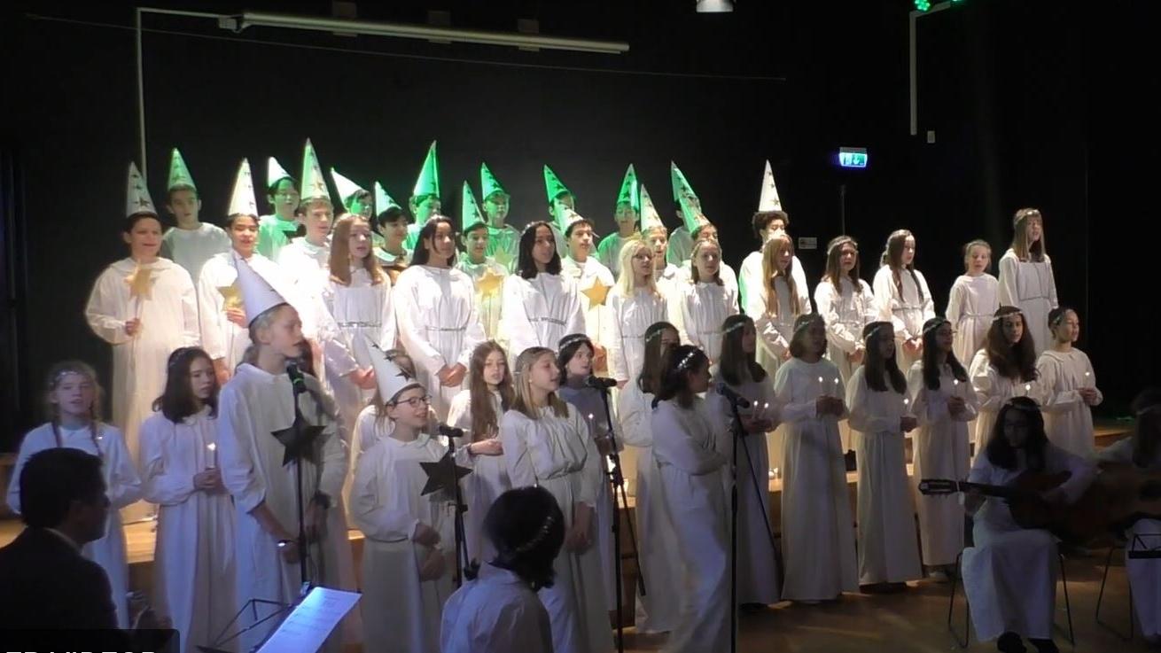 Concerts de Lucia avec les 5èmes