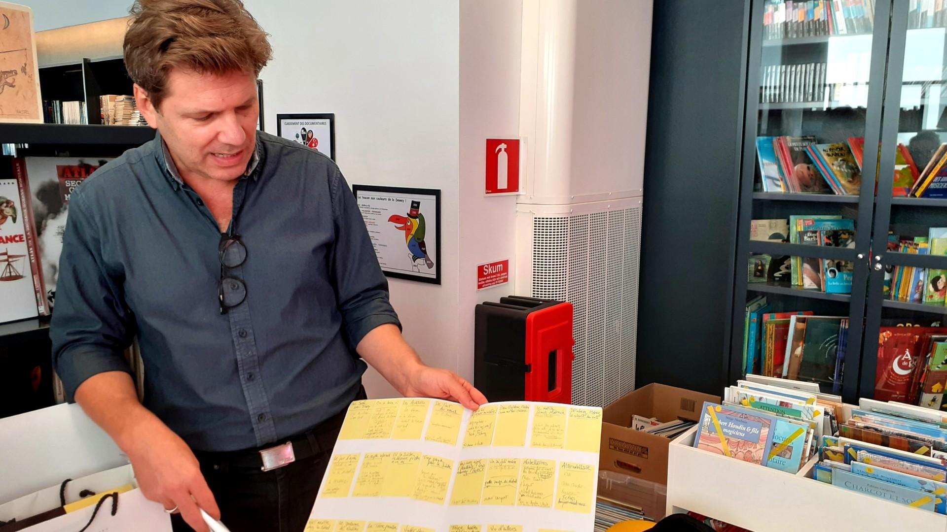 Writer-journalist Olivier Truc at LFSL