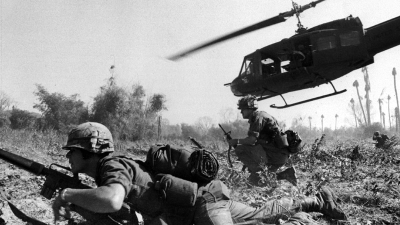 Fotografera Vietnamkriget
