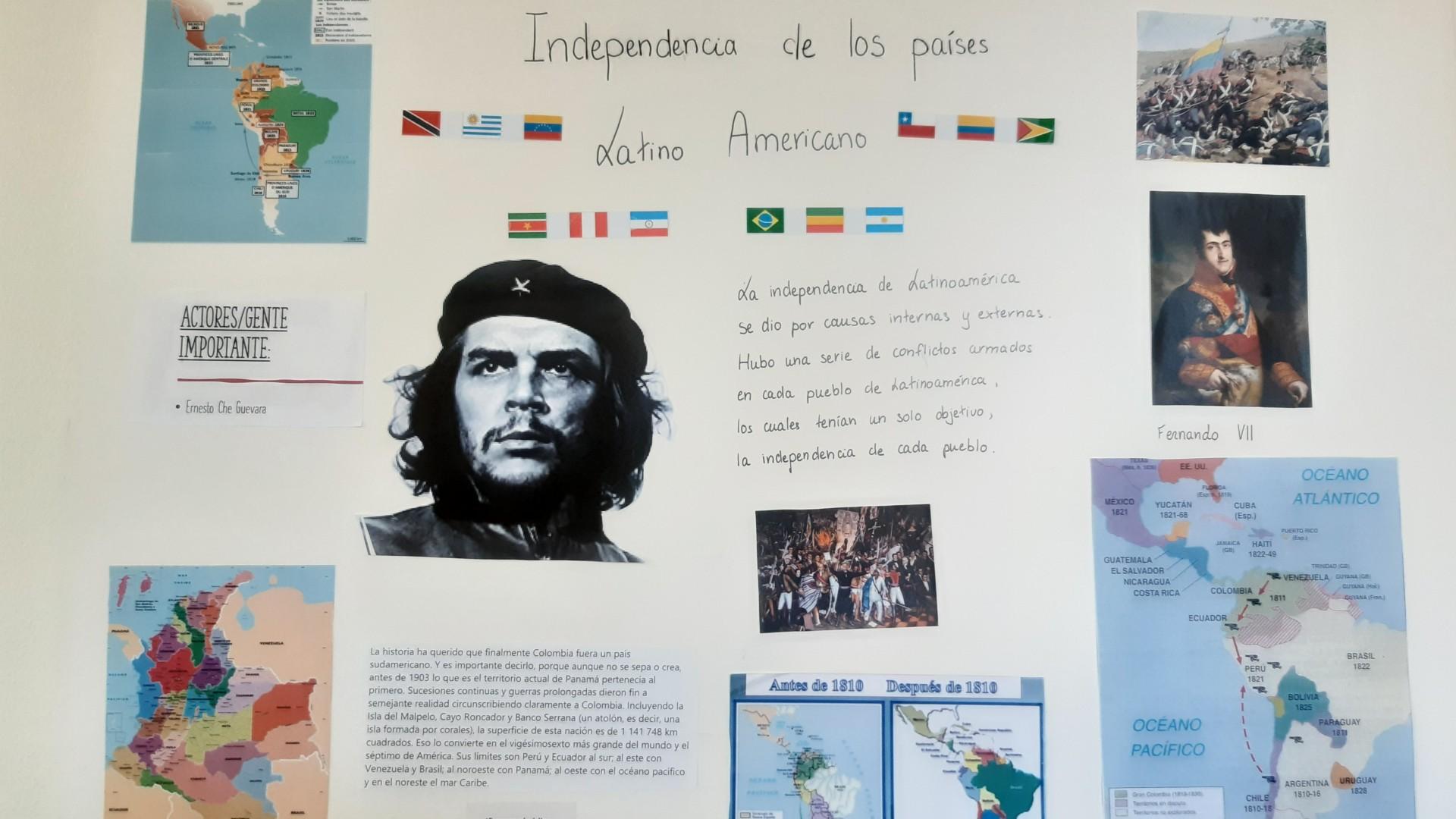Exposition des élèves de 1ère B, espagnol
