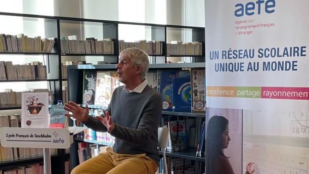 Rencontre avec l'écrivain Jean-Claude Mourlevat